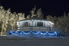 frozen hat ski Στοκ εικόνες με δικαίωμα ελεύθερης χρήσης