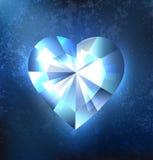 Frozen heart Stock Photos