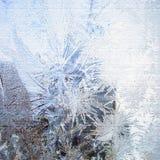 Frozen ice stock illustration