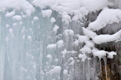 Frozen ice background Royalty Free Stock Photo