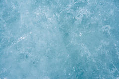 Frozen ice close up Stock Images