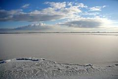 Frozen ice. Stock Photography