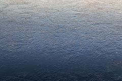 Frozen Ice on a Lake Royalty Free Stock Images