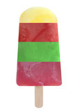 Frozen ice lolly popsicle Stock Images