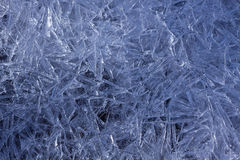 Frozen Ice Texture Royalty Free Stock Photography