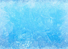 Frozen ice. winter texture Stock Image