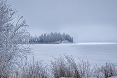 Frozen Island Royalty Free Stock Photos