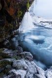 Frozen kingdom Stock Photography