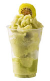 Frozen kiwi smoothie Stock Image