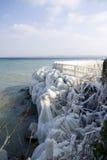 Frozen lake Royalty Free Stock Images