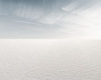 Frozen Lake. Beautiful frozen lake and sky for background Stock Image