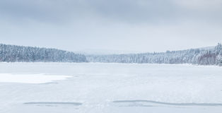 Free Frozen Lake Royalty Free Stock Image - 65356566