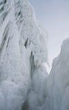 Frozen Lake Baikal. Winter. Royalty Free Stock Photos