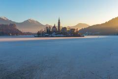 Lake Bled Slovenia royalty free stock photo