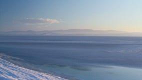 Frozen Lake stock video