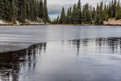 Frozen Lake Royalty Free Stock Image