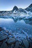 Frozen lake Royalty Free Stock Photography