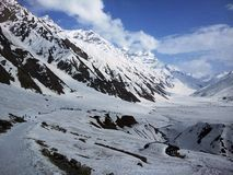 Frozen Lake Saif ul Malook Royalty Free Stock Image
