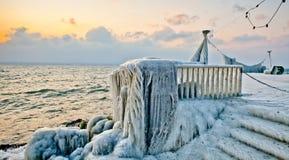 Frozen Lakefront II Stock Image
