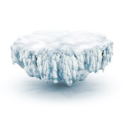 Frozen land Royalty Free Stock Photography