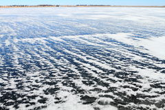 Frozen landscape background Royalty Free Stock Photo