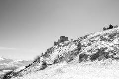 Frozen landscape, Italy Royalty Free Stock Photo