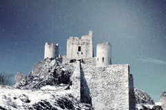 Frozen landscape, Italy Royalty Free Stock Photography