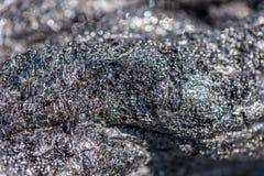 Frozen lava Stock Images