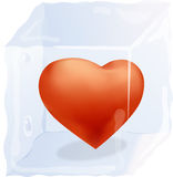 Frozen love Royalty Free Stock Photography