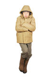 Frozen man Stock Photos
