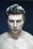 Frozen man Royalty Free Stock Image