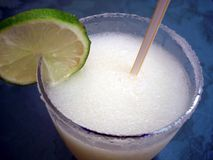Frozen Margarita Drink Stock Images