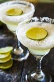 Frozen margaritas Stock Image