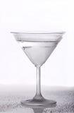 Frozen martini glass Stock Photo