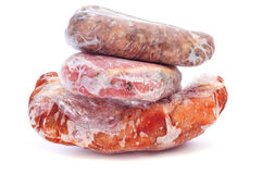 Frozen meat Royalty Free Stock Photo