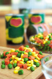 Frozen mixed vegetables Royalty Free Stock Image