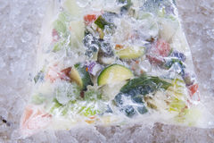 Frozen Mixed Vegetables Royalty Free Stock Photos