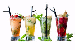 Frozen mojito flavors Royalty Free Stock Photography