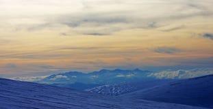 Frozen mountain Royalty Free Stock Photo