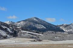 The Frozen Mountain Royalty Free Stock Image