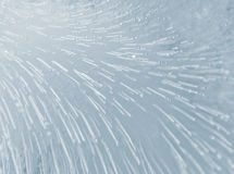 Frozen movement. Beautiful ice texture looking like a frozen movement Stock Photography