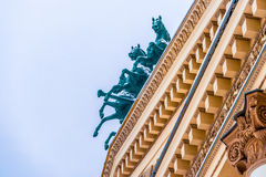 Frozen music of architecture 2 Royalty Free Stock Photo