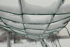 The frozen net Stock Images