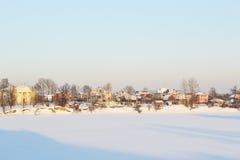 Free Frozen Neva River Stock Photography - 22196262