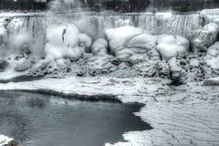 Frozen Niagara Falls Stock Photos