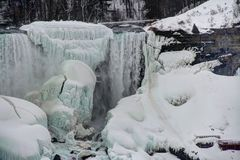 Frozen Niagara Falls Royalty Free Stock Image
