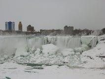 Frozen Niagara Falls Royalty Free Stock Images