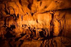 Frozen Niagara, Mammoth Cave National Park, USA Stock Photography