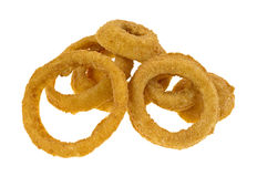 Frozen onion rings Royalty Free Stock Image