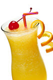 Frozen orange drink Royalty Free Stock Photos
